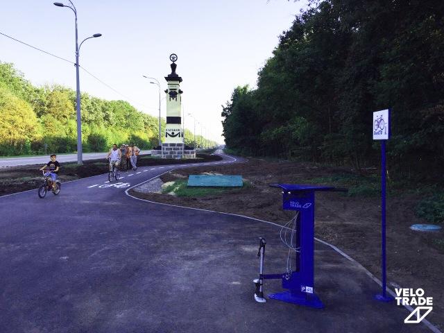 Велодорожка в Харькове Станция СТО