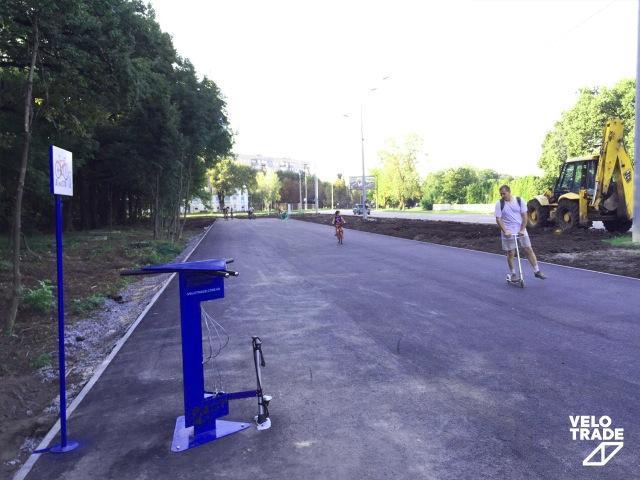 Velotrade бесплатная станция велоСТО