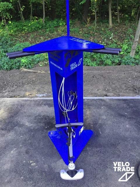 Вело СТО станция техобслуживания для велосипедов Velotrade