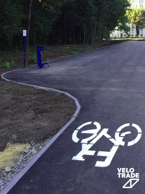 Харьковская велодорожка ко Дню Города 2016